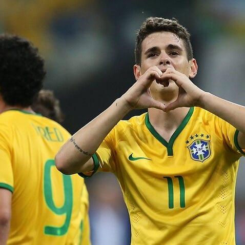 Chelsea Oscar Brazil Copa America Dunga