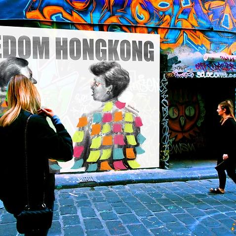 Hoiser Lane to set up Lennon Wall for Hong Kong