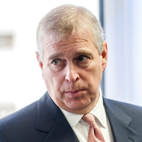 Britain's Prince Andrew in 2015.