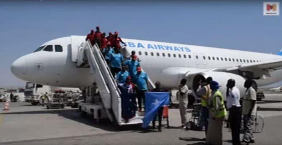 For many in the group it was their first visit to Somalia.
