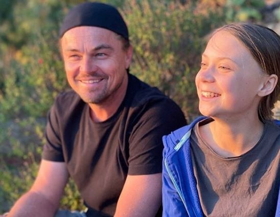 Leonardo DiCaprio teams up with Greta Thunberg to stop climate change
