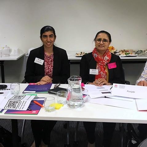 Team managing the Punjabi syllabus