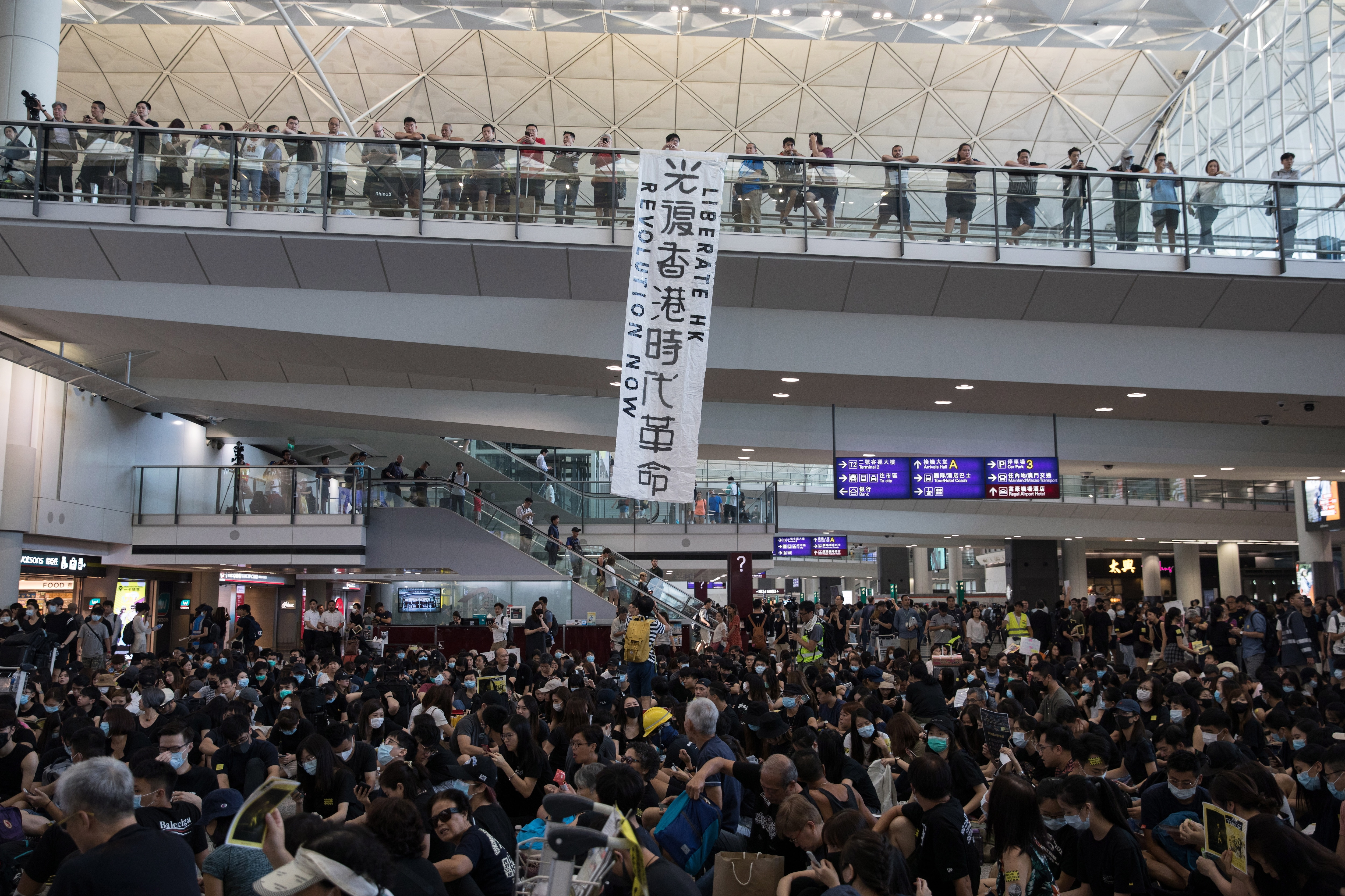 HK protesters defy police with rallies