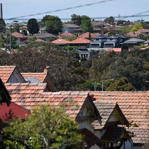 Houses in Melbourne, Tuesday. Nov. 8, 2016. (AAP Image/Tracey Nearmy) NO ARCHIVING, EDITORIAL USE ONLY
