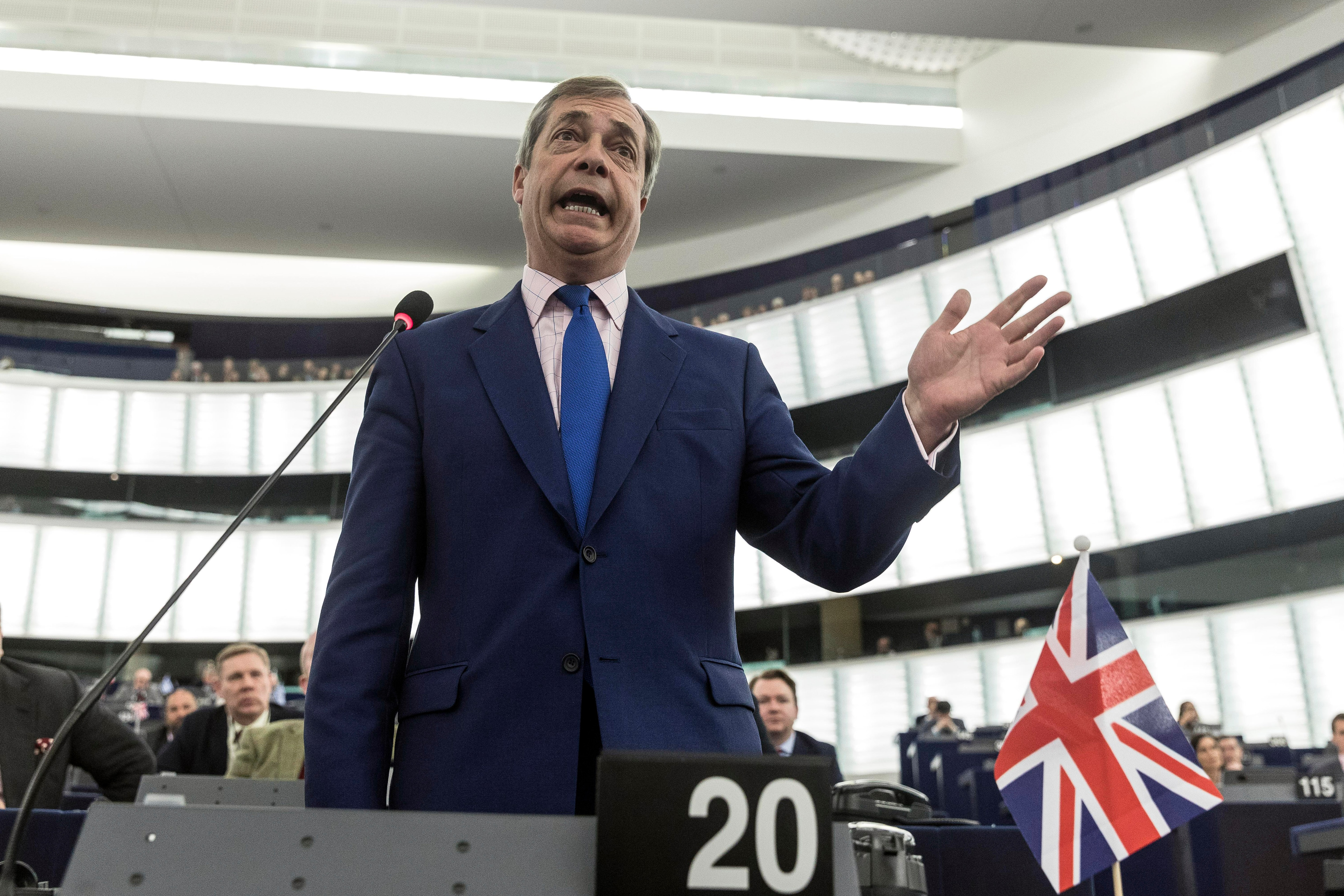 UK politician Nigel Farage will lead a march from Sunderland to London, to protest in favour of exiting the European Union.