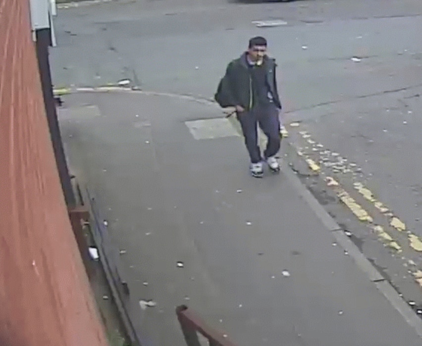 CCTV allegedly showing of Salman Abedi, at an unknown location in Greater Manchester prior to the deadly 2017 attack.
