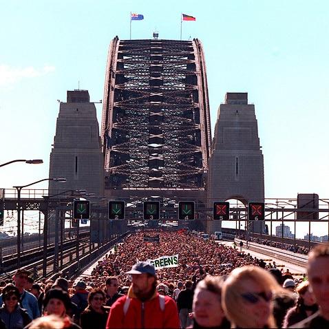 More than 250,000 people took part in the landmark walk