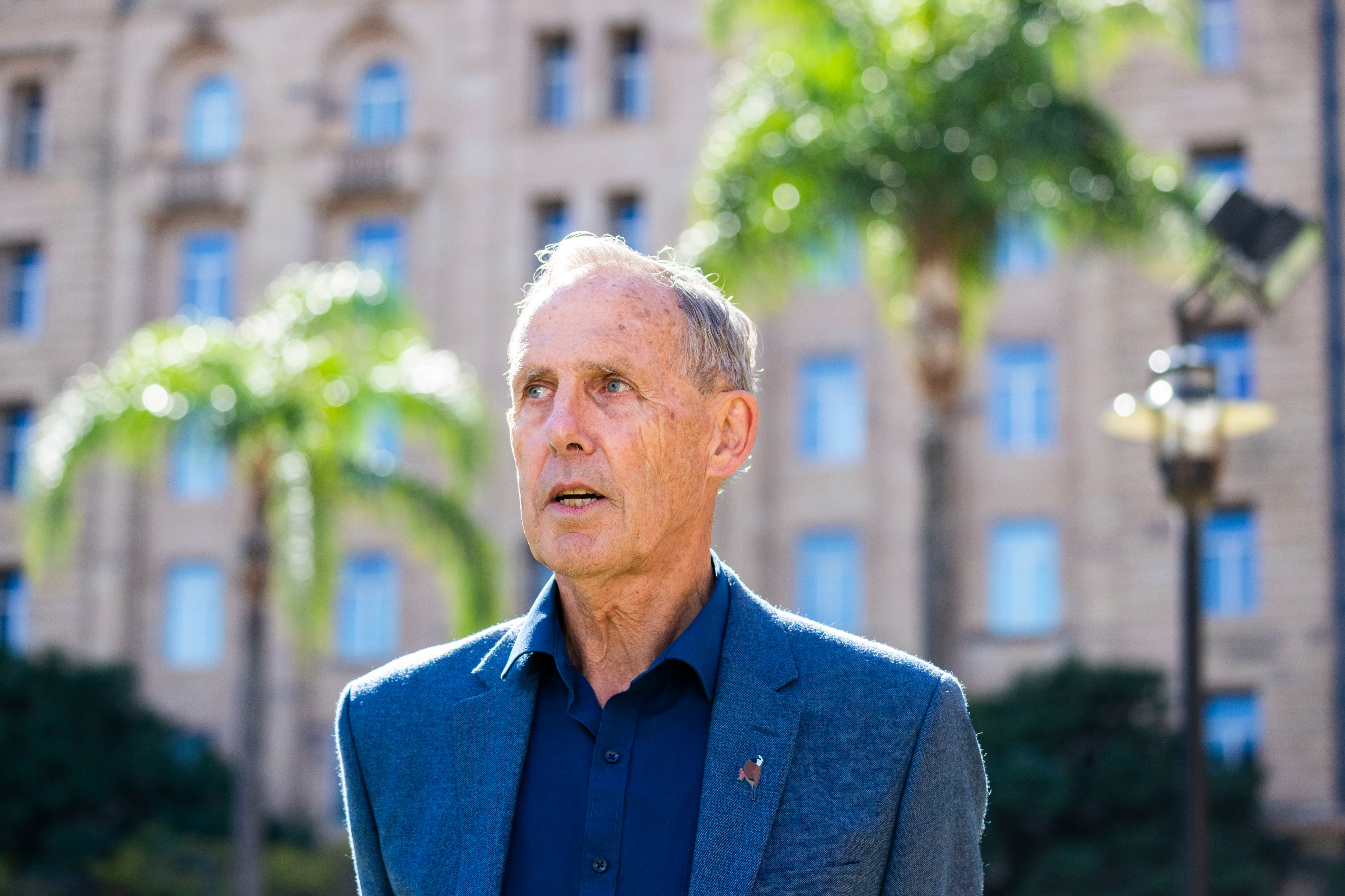 Former Greens leader Bob Brown says he supports renewable energy but everything has limits.