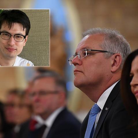 Scott Morrison offers his prayers for missing Alek Sigley