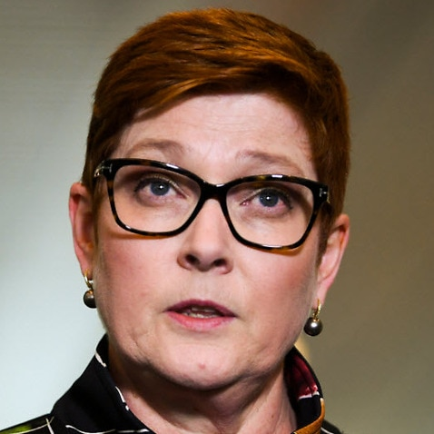 Foreign Minister and Minister for Women Marise Payne.