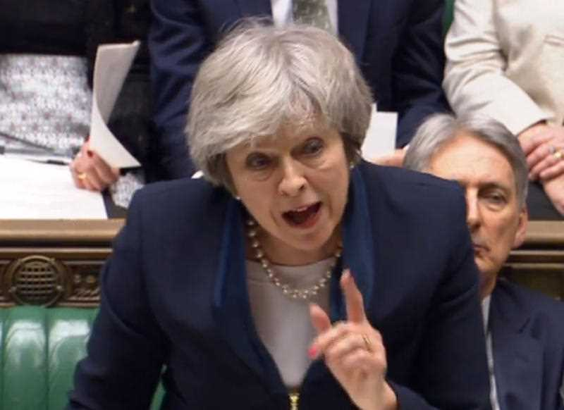 UK Prime Minister Theresa May has urged MPs to secure a Brexit deal.
