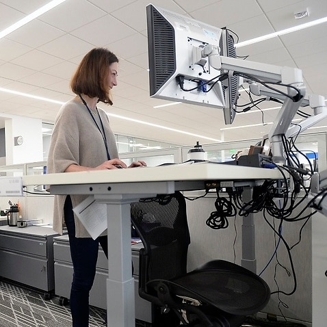 Standing desks could help reduce obesity rates, according to a study.