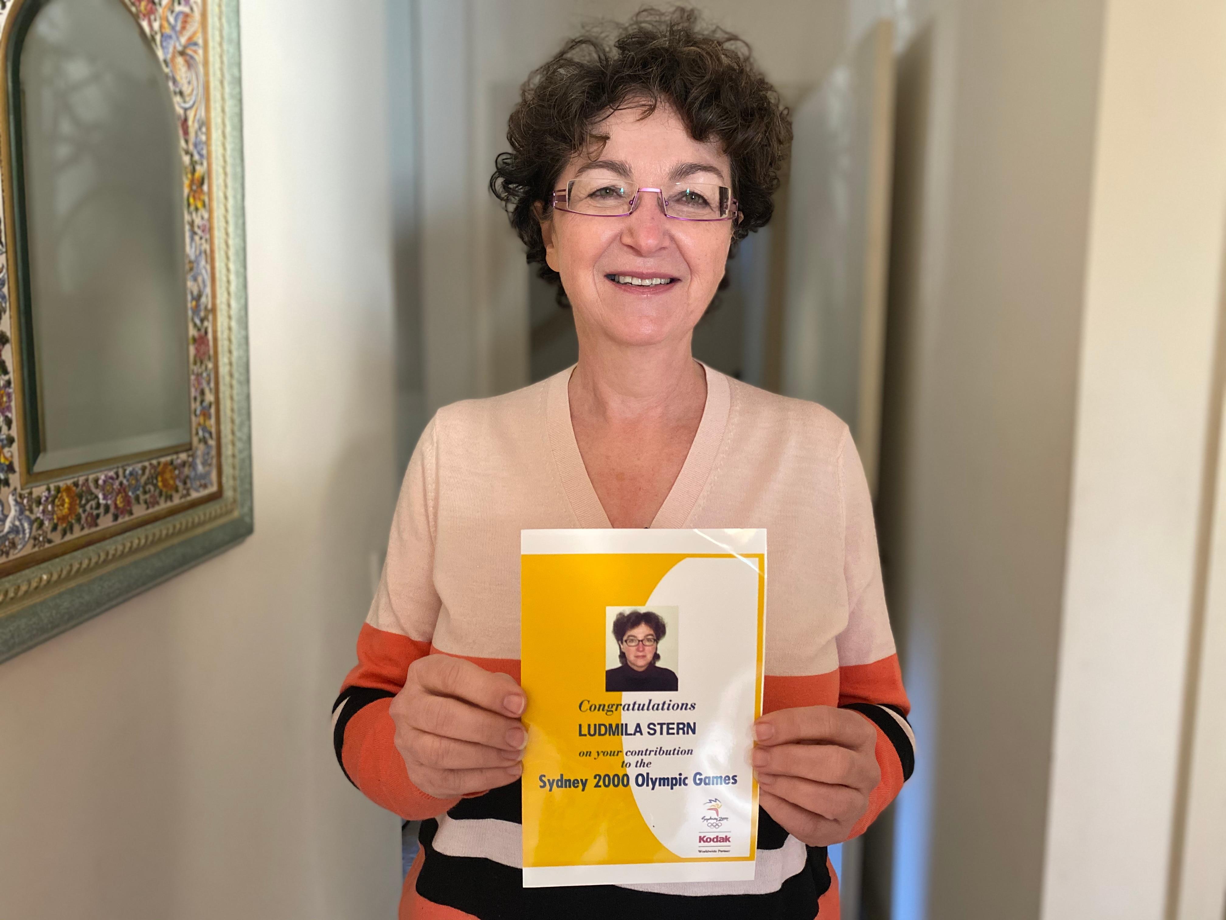 Russian interpreter Ludmilla Stern