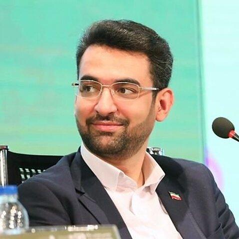 PHOTO: Iranian Minister for ICT Mohammad Javad Azari Jahromi