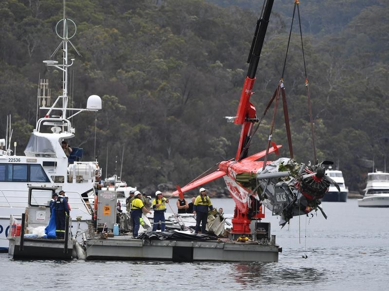 Sydney seaplane was half a mile off course before fatal crash