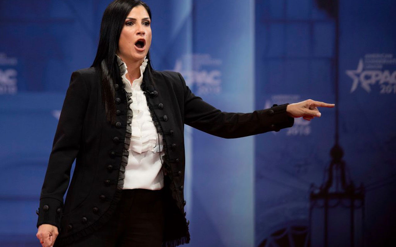 Dana Loesch speaks during the 2018 Conservative Political Action Conference.