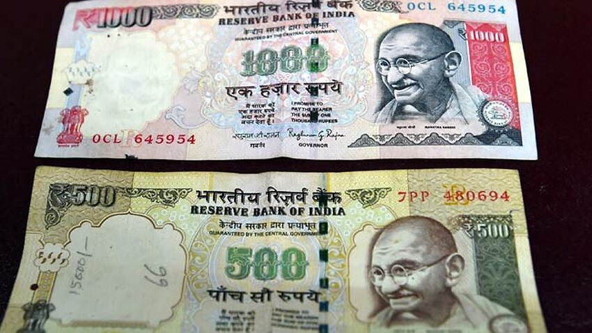 Rs 500 and Rs 1000 currency notes banned in India