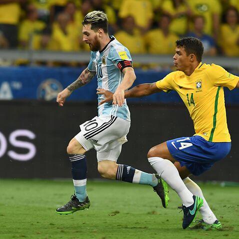 Messi and Silva