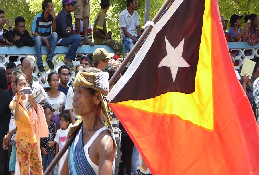 Timor -Leste flag