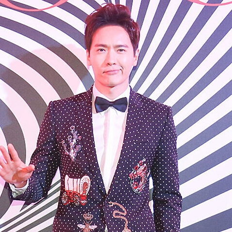Actor Gao Yunxiang attends the 11th anniversary celebration of Vogue Magazine on November 3, 2016 in Beijing, China.