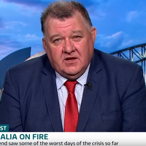 Craig Kelly is interviewed on Good Morning Britain,