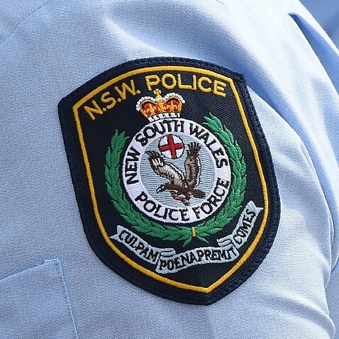 New South Wales Police badge.