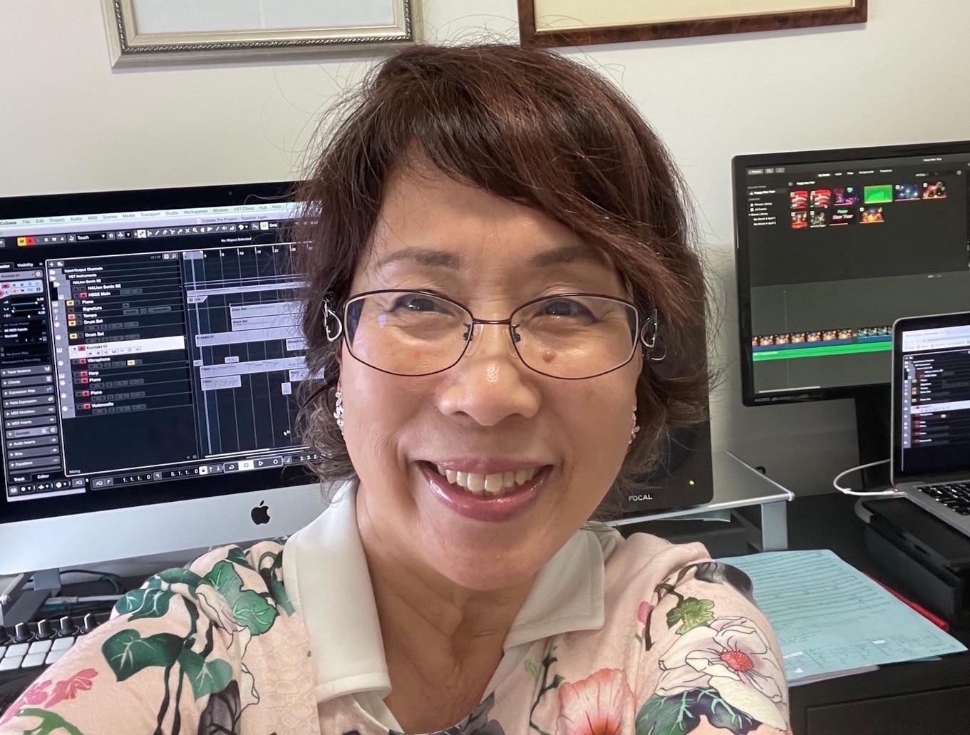 Japanese Composer and Pianist Misa Nakata