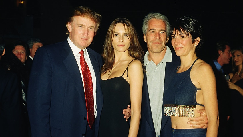 Donald Trump on Ghislaine Maxwell: 'I just wish her well'