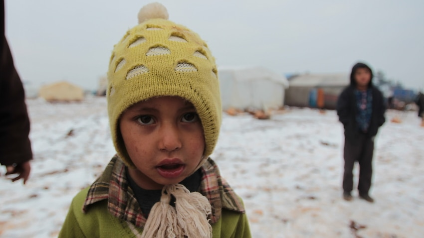 Image for read more article 'Babies freezing to death in Syrian camps as fighting flares in Idlib'