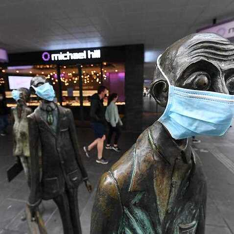 Face masks will become mandatory in Melbourne on Thursday.