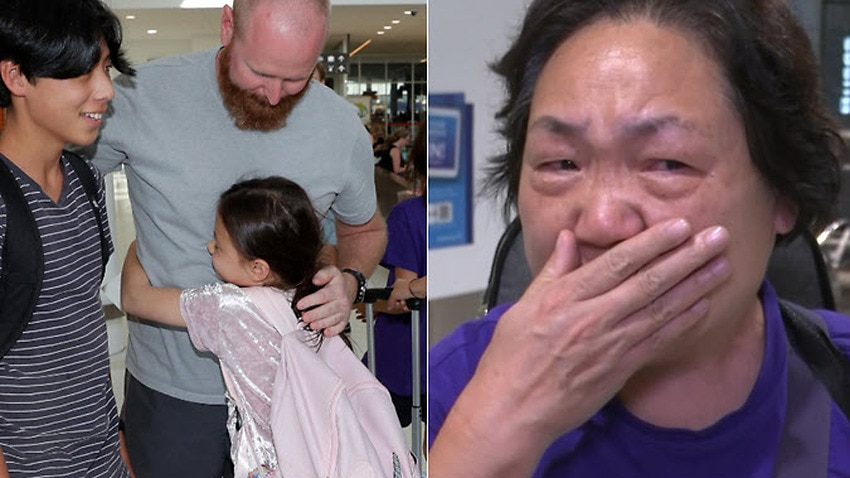 Australian evacuees who were quarantined on Christmas Island over concerns about the coronavirus have arrivied home from Christmas Island.