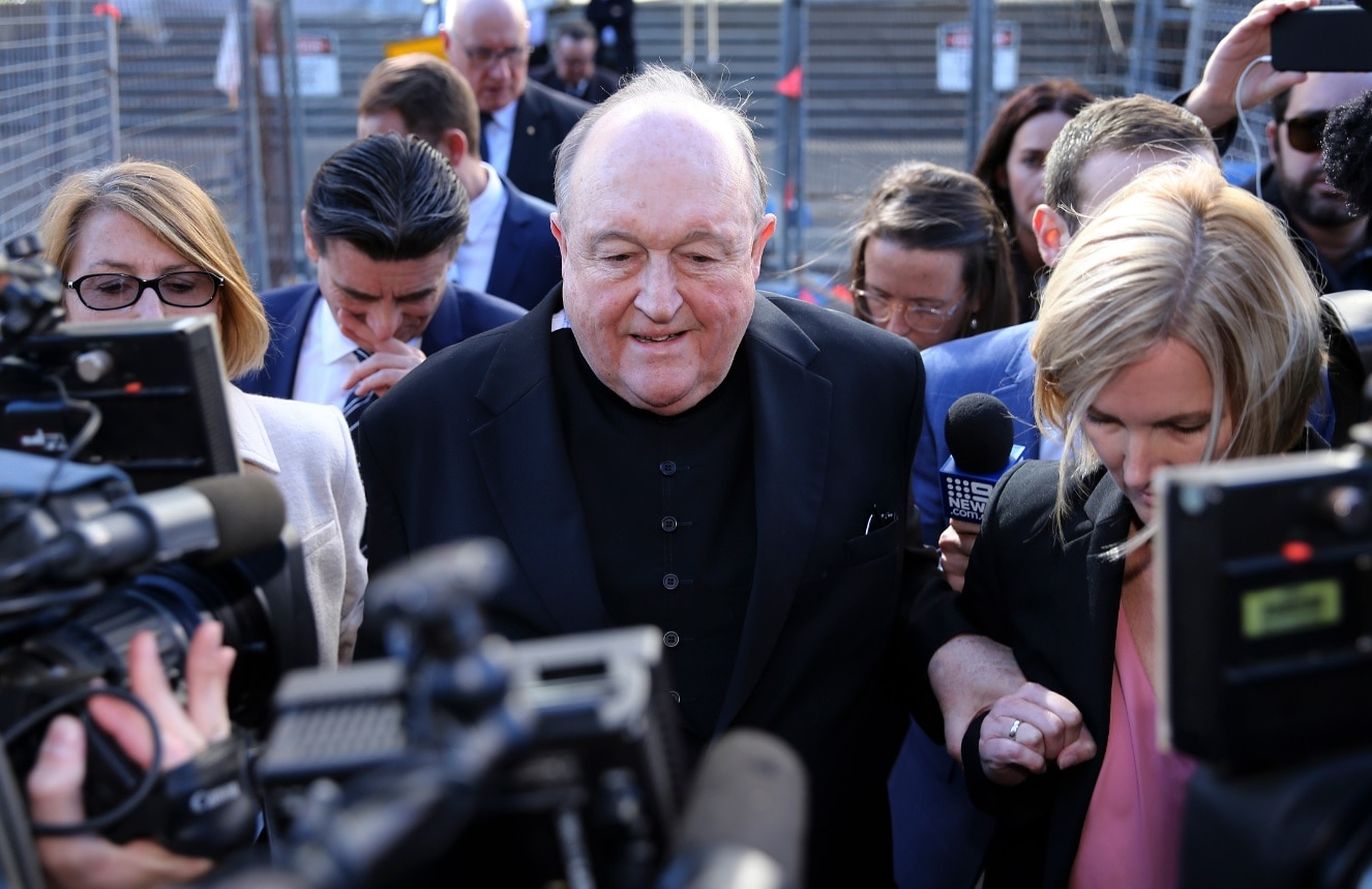 Australia archbishop gets house detention for abuse coverup