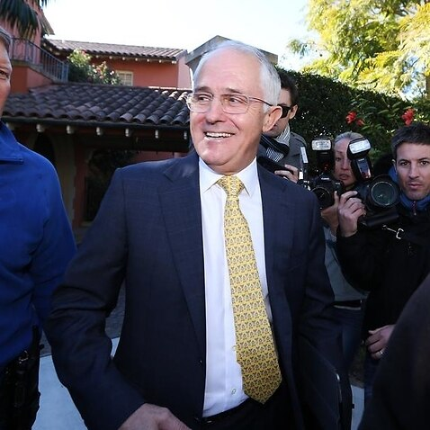 ELECTION16 MALCOLM TURNBULL