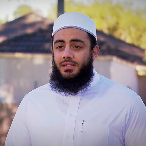 Sydney imam Ibrahim Dadoun received social media backlash after getting vaccinated