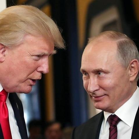 Vladimir Putin and Donald Trump spoke briefly at APEC.