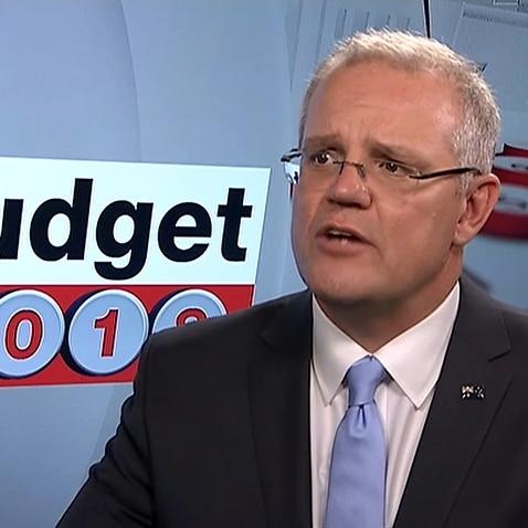 The Federal Treasurer Scott Morrison defends his third budget.