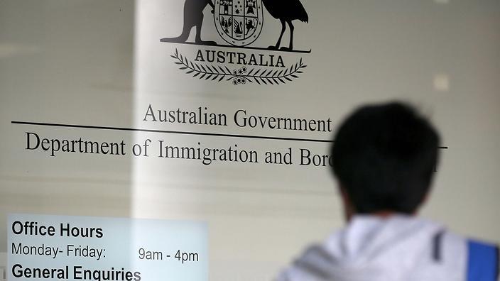 Migration in Australia.