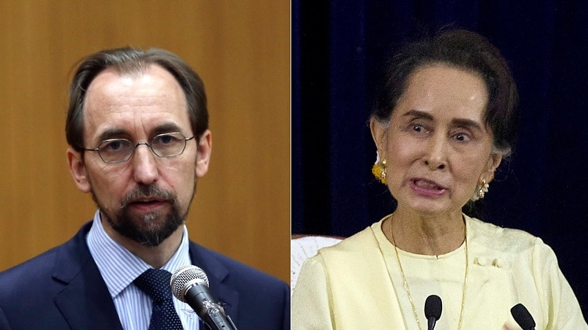 Image for read more article 'Aung San Suu Kyi 'should have resigned' over Rohingya crackdown: UN chief'