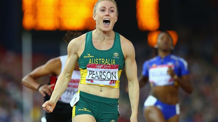 Glasgow 2014: Sally Pearson wins gold in 100m hurdle final
