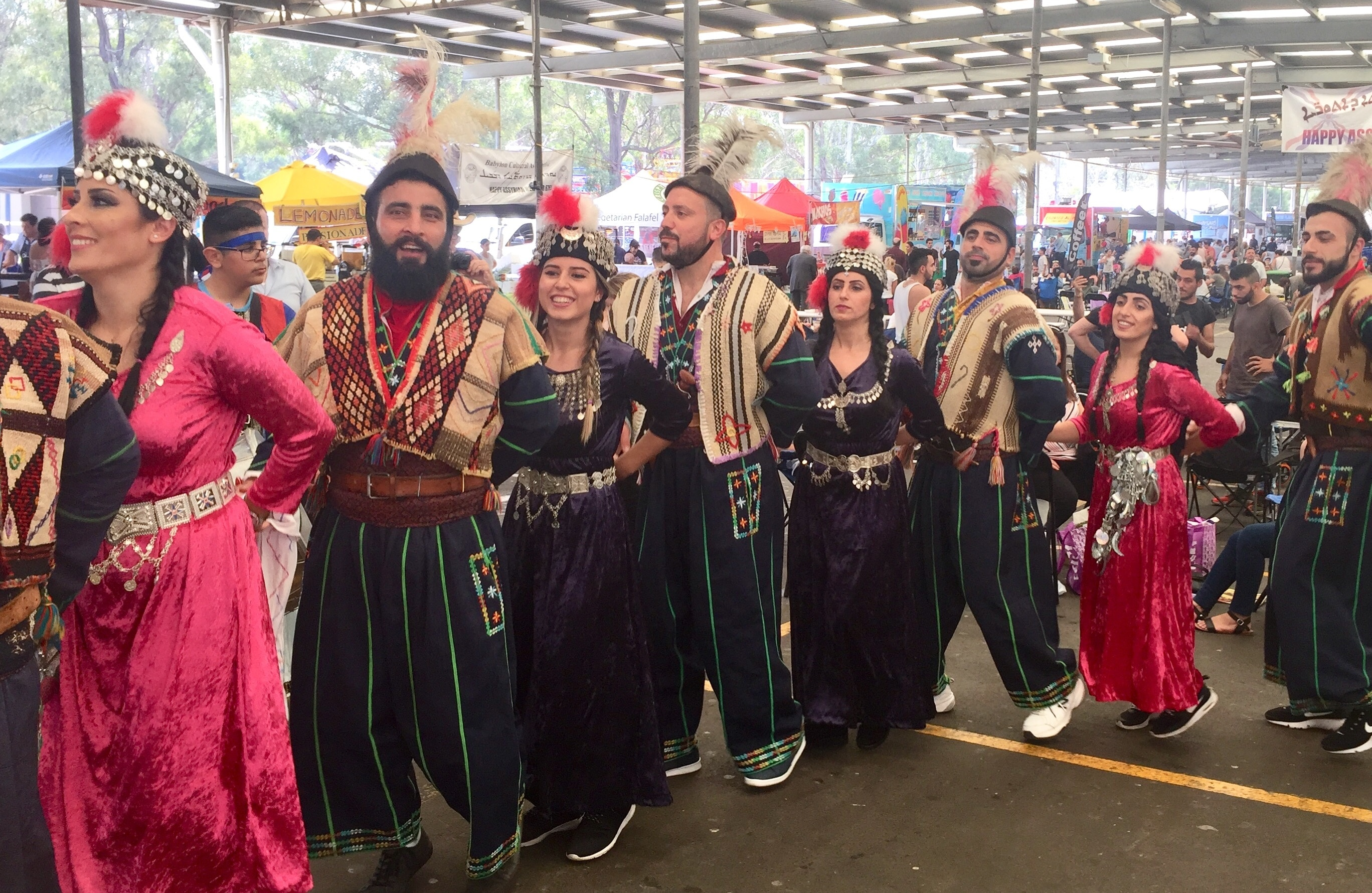 There are an estimated 40,000 Assyrians in Australia.