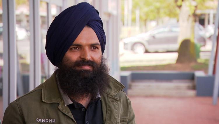 Chef Gurvinder Singh Sandhu.