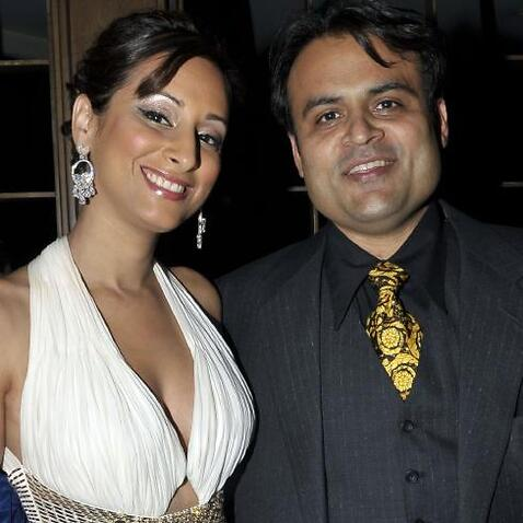 Pankaj and Radhika Oswal