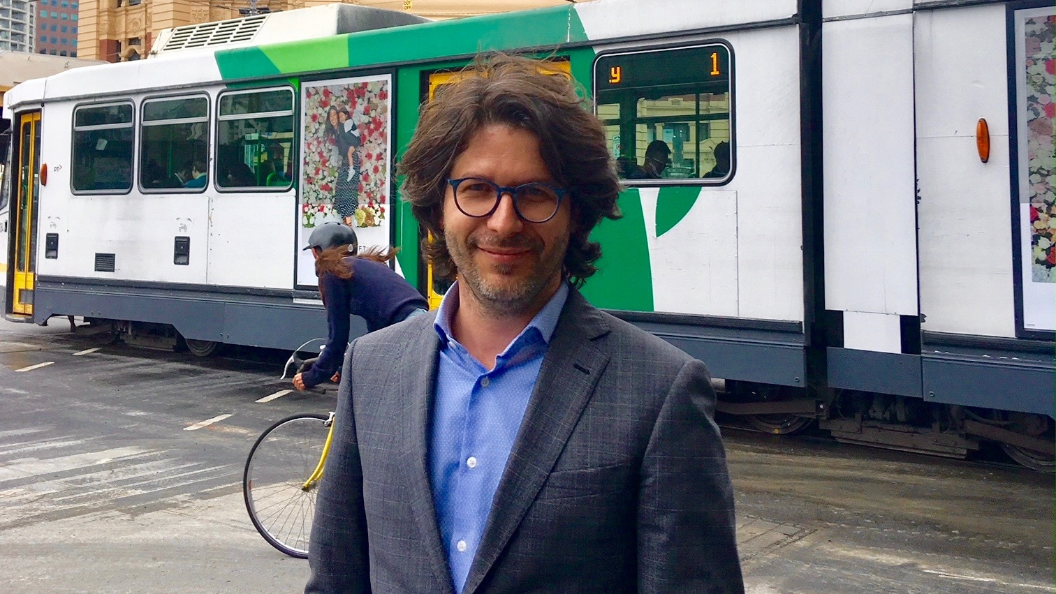 Alberto Furlan in Melbourne, where he now resides
