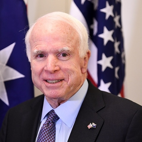 John McCain, in new book, scolds Trump for undermining United States values