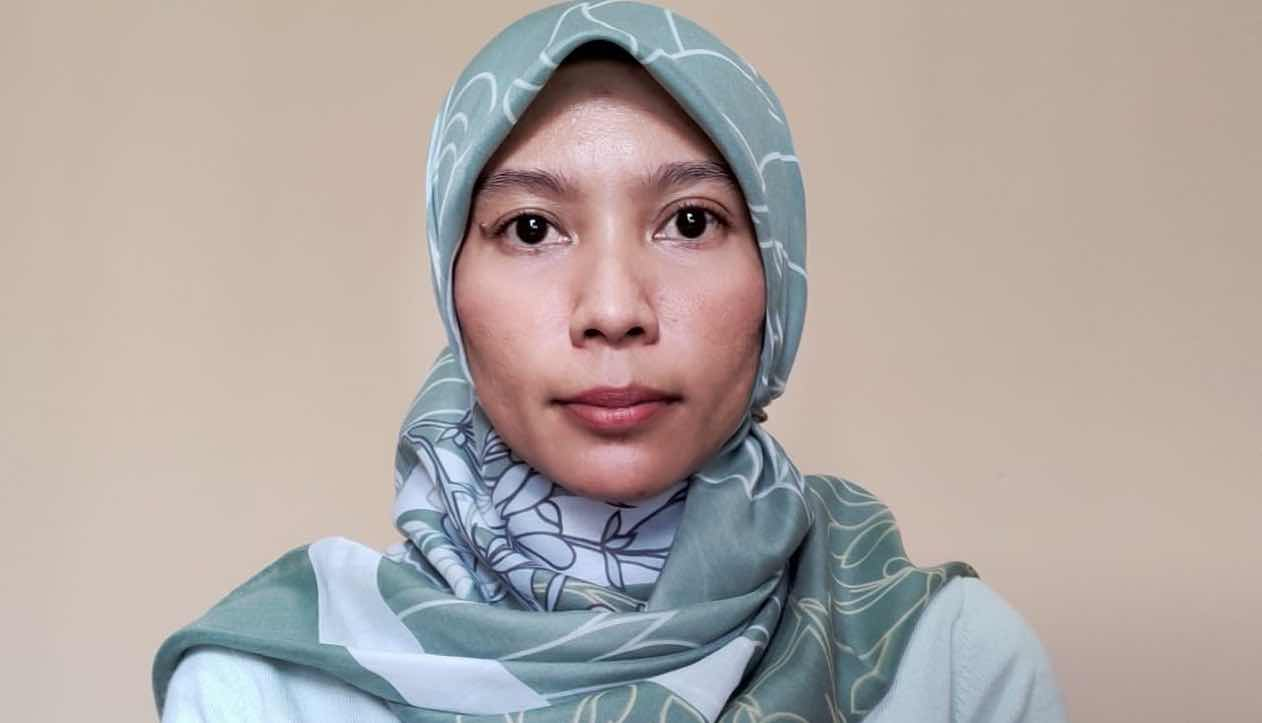 Annisa Husni in Jakarta enrolled on an online course with Deakin University.