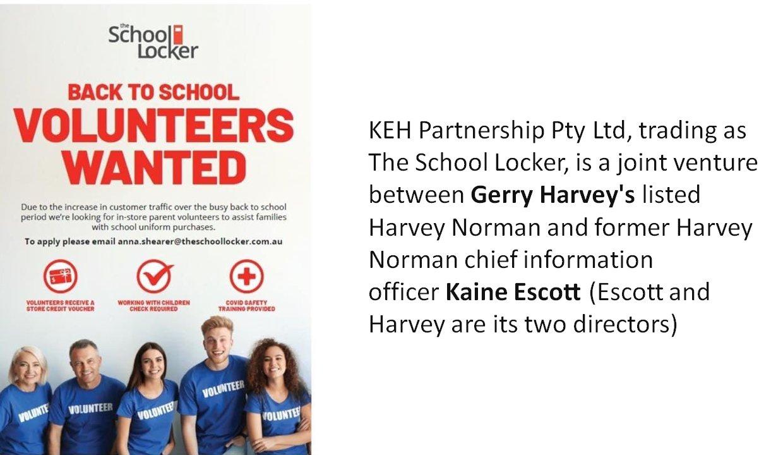 School locker flier