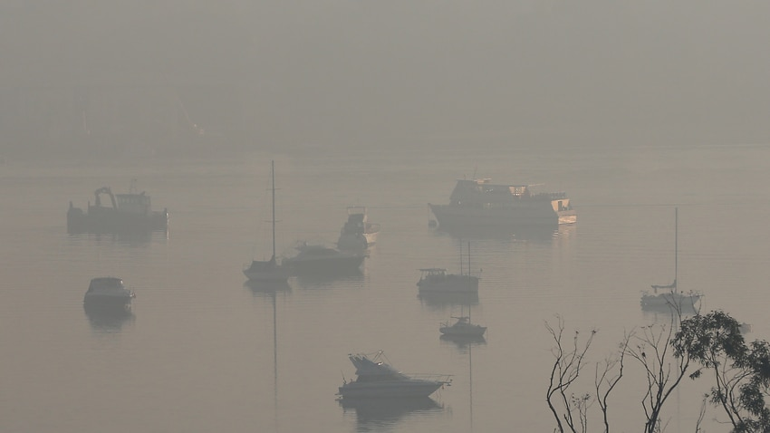 'Tough day' ahead for NSW as Sydney wakes to thick blanket of smoke