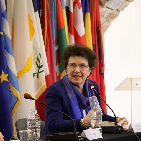 Η Καθηγήτρια Ιστορίας του Νέου Ελληνισμού στο Εθνικό και Καποδιστριακό Πανεπιστήμιο Αθηνών, κυρία Όλγα Κατσιαρδή-Hering