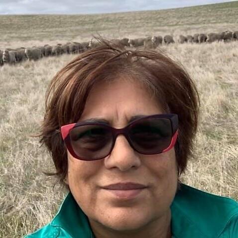 Gurjit Sondhu at her Jullundur Farms in western Victoria.