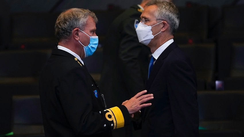 Image for read more article 'NATO downplays impact of submarine row on military cooperation'